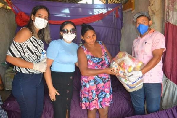 Prefeitura de Buritirana entrega cestas básicas às famílias em situação de risco social