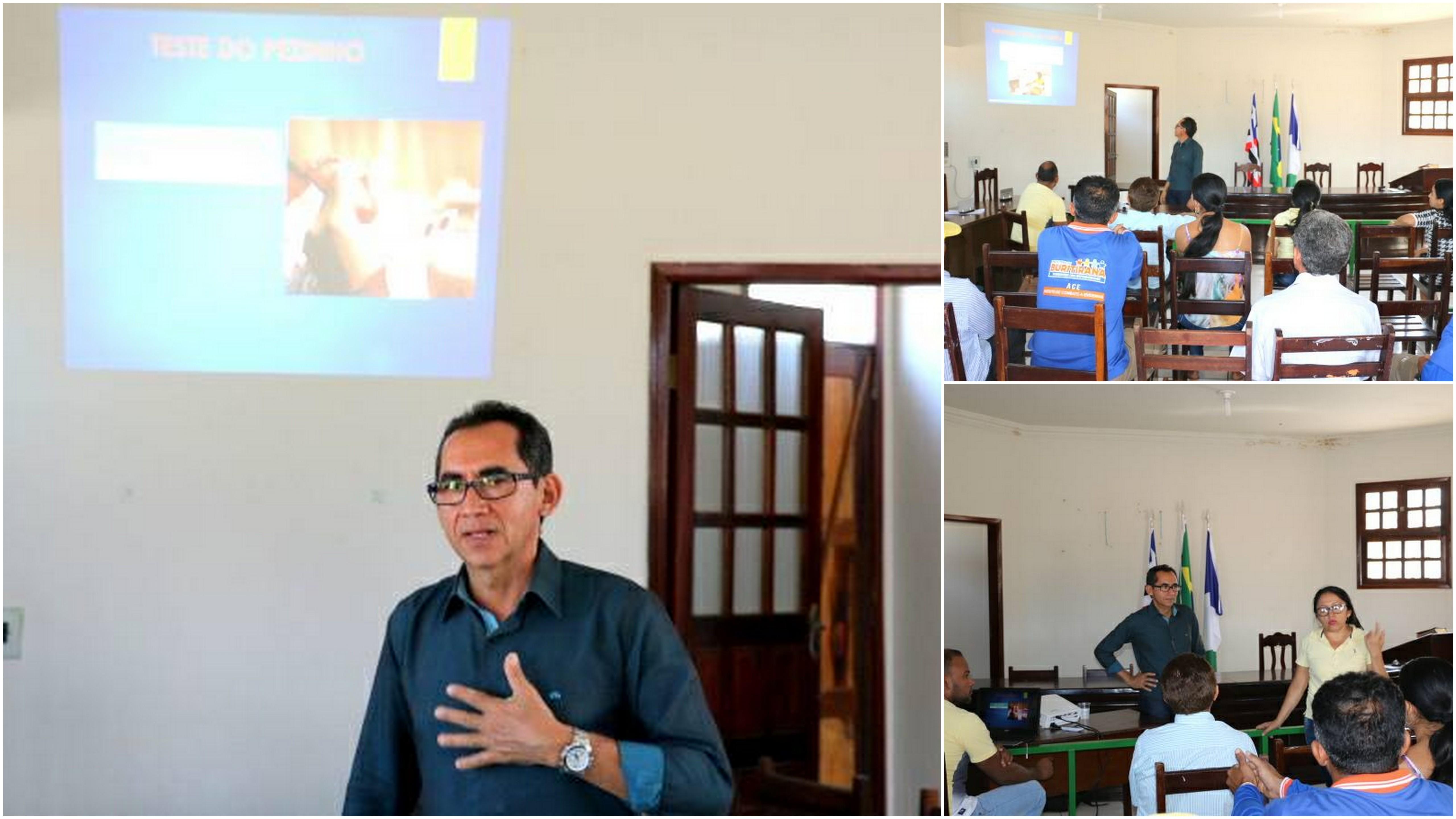 Secretaria de Saúde presta contas durante audiência pública em Buritirana